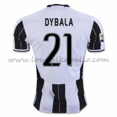 Juventus Jalkapallo Pelipaidat 2016-17 Dybala 21 Pelipaita Koti
