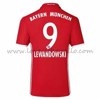 Bayern Munich Jalkapallo Pelipaidat 2016-17 Lewandowski 9 Pelipaita Koti