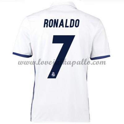 Real Madrid Jalkapallo Pelipaidat 2016-17 Ronaldo 7 Pelipaita Koti