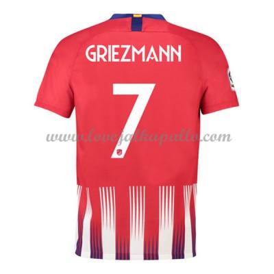 Atletico Madrid Jalkapallo Pelipaidat 2018-19 Antoine Griezmann 7 Pelipaita Koti