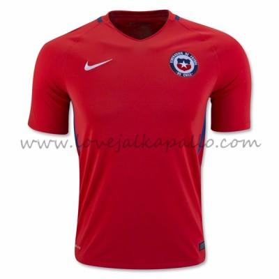Chile 2016 Maajoukkue Koti Jalkapallo Pelipaidat