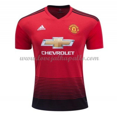 Manchester United Jalkapallo Pelipaidat 2018-19 Pelipaita Koti