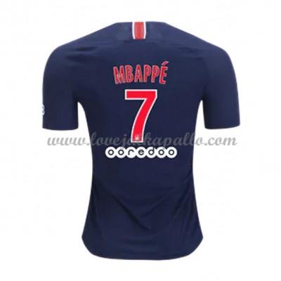 Paris Saint Germain PSG Jalkapallo Pelipaidat 2018-19 Kylian Mbappé 7 Pelipaita Koti