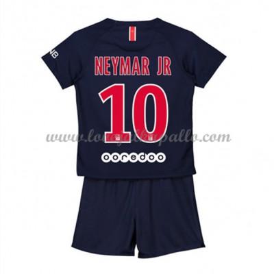 Jalkapallo Pelipaidat Lapsille Paris Saint Germain PSG 2018-19 Neymar Jr 10 Pelipaita Koti