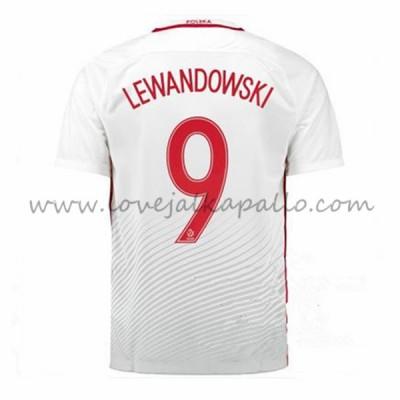 Puola 2016 Maajoukkue Robert Lewandowski 9 Koti Jalkapallo Pelipaidat